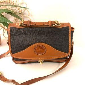Vintage   Dooney and Burke Black and Brown Bag